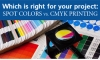 Spot Color Printing vs. CMYK Printing